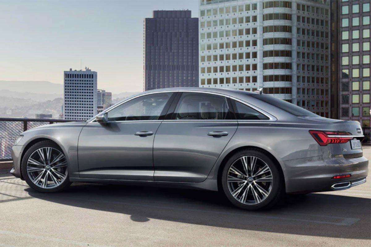 thân xe Audi A6 2021 mới nhất