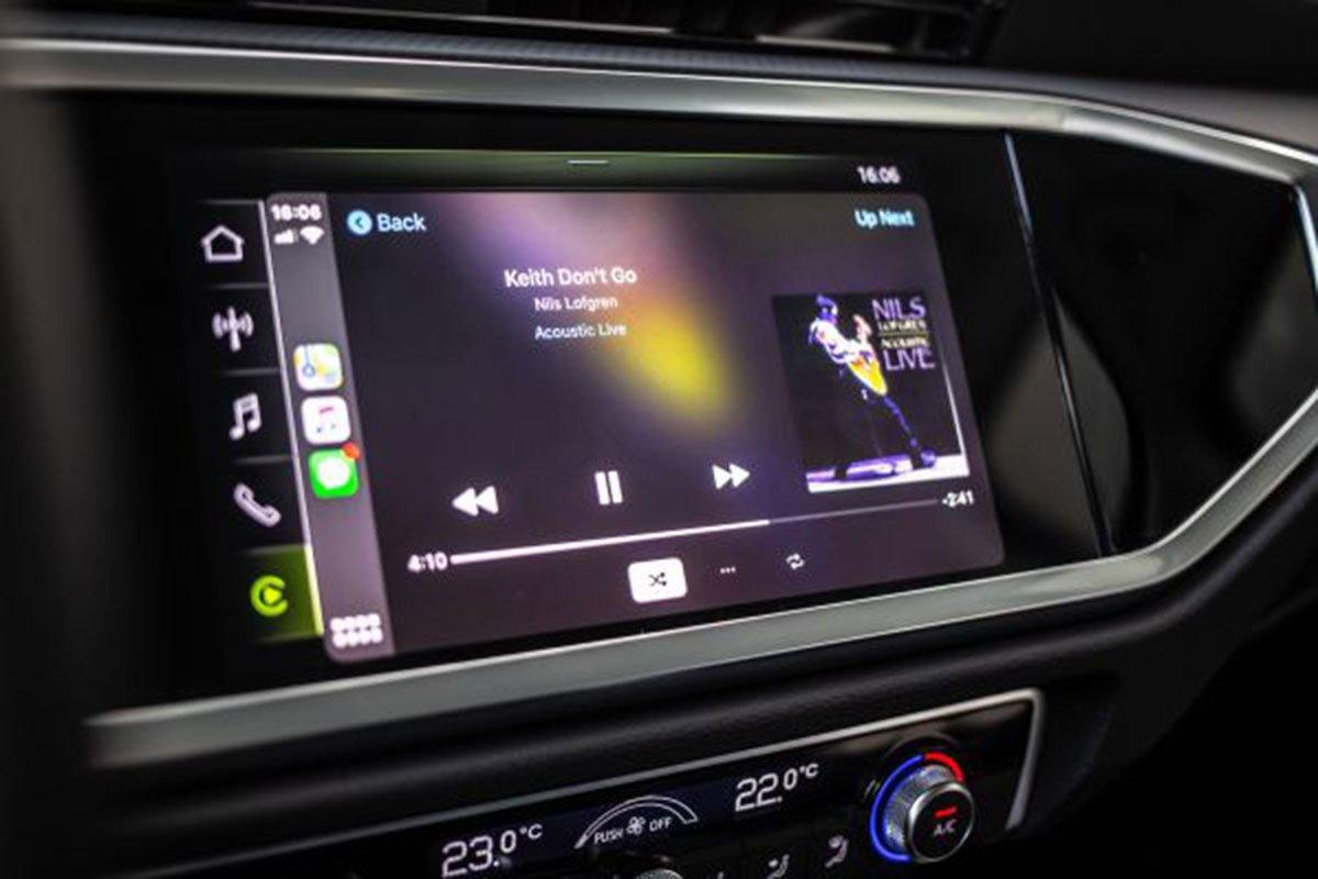 tiện ích trên Audi Q3.