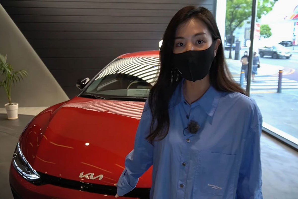 Đây là ô tô điện Kia EV6 ngoài đời thực, có nét giống Lamborghini Urus a2