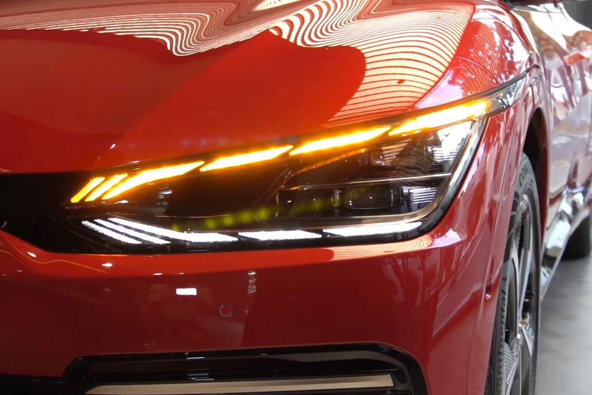 Đây là ô tô điện Kia EV6 ngoài đời thực, có nét giống Lamborghini Urus a3