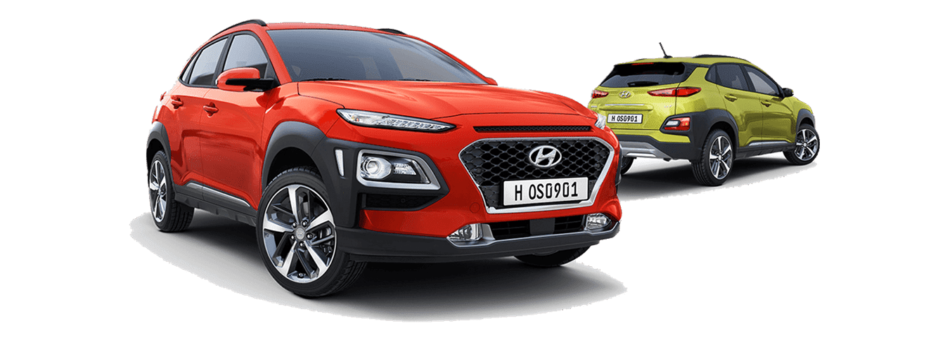 ngoại thất xe Hyundai Kona mới nhất