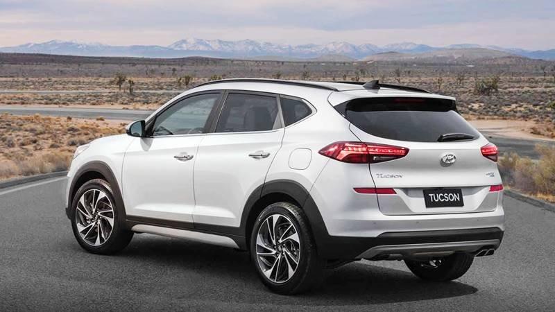 đuôi xe Hyundai Tucson