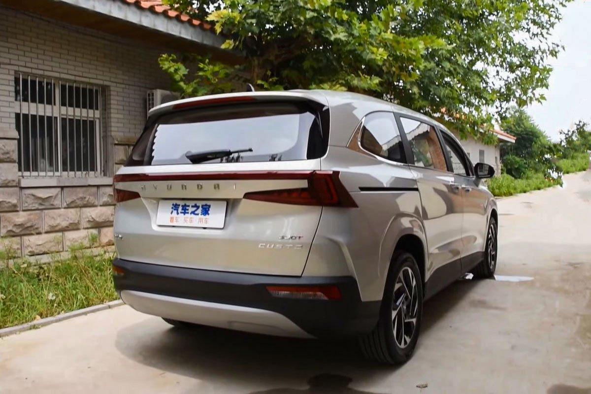 """""""Bóc tem"""" Hyundai Custo 2022: Tucson bản MPV có nội thất như xe Tesla a6"""