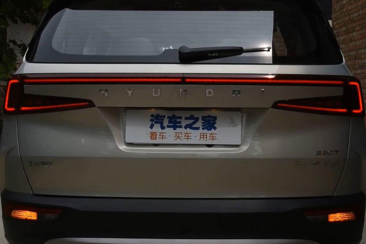"""""""Bóc tem"""" Hyundai Custo 2022: Tucson bản MPV có nội thất như xe Tesla a7"""