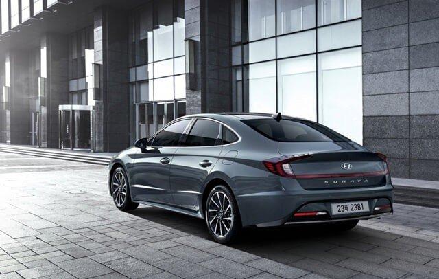 Ngoại hình Hyundai Sonata 2021