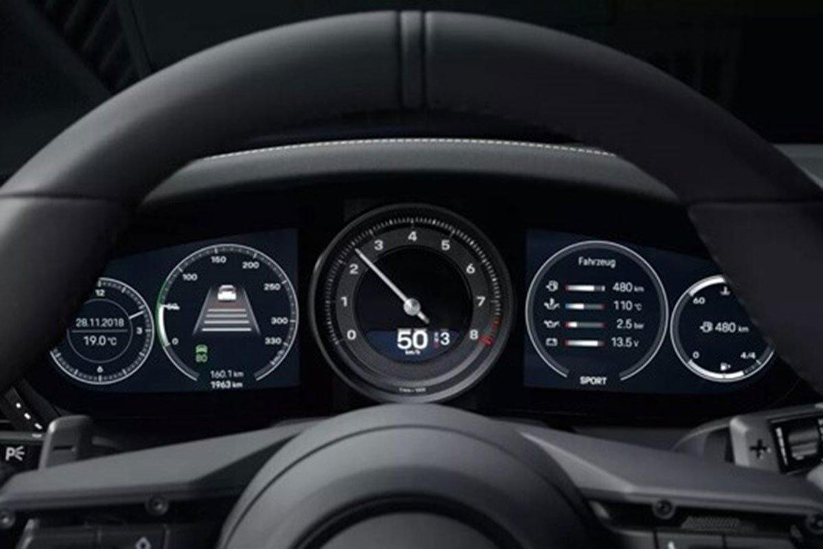 đồng hồ xe Porsche 911.