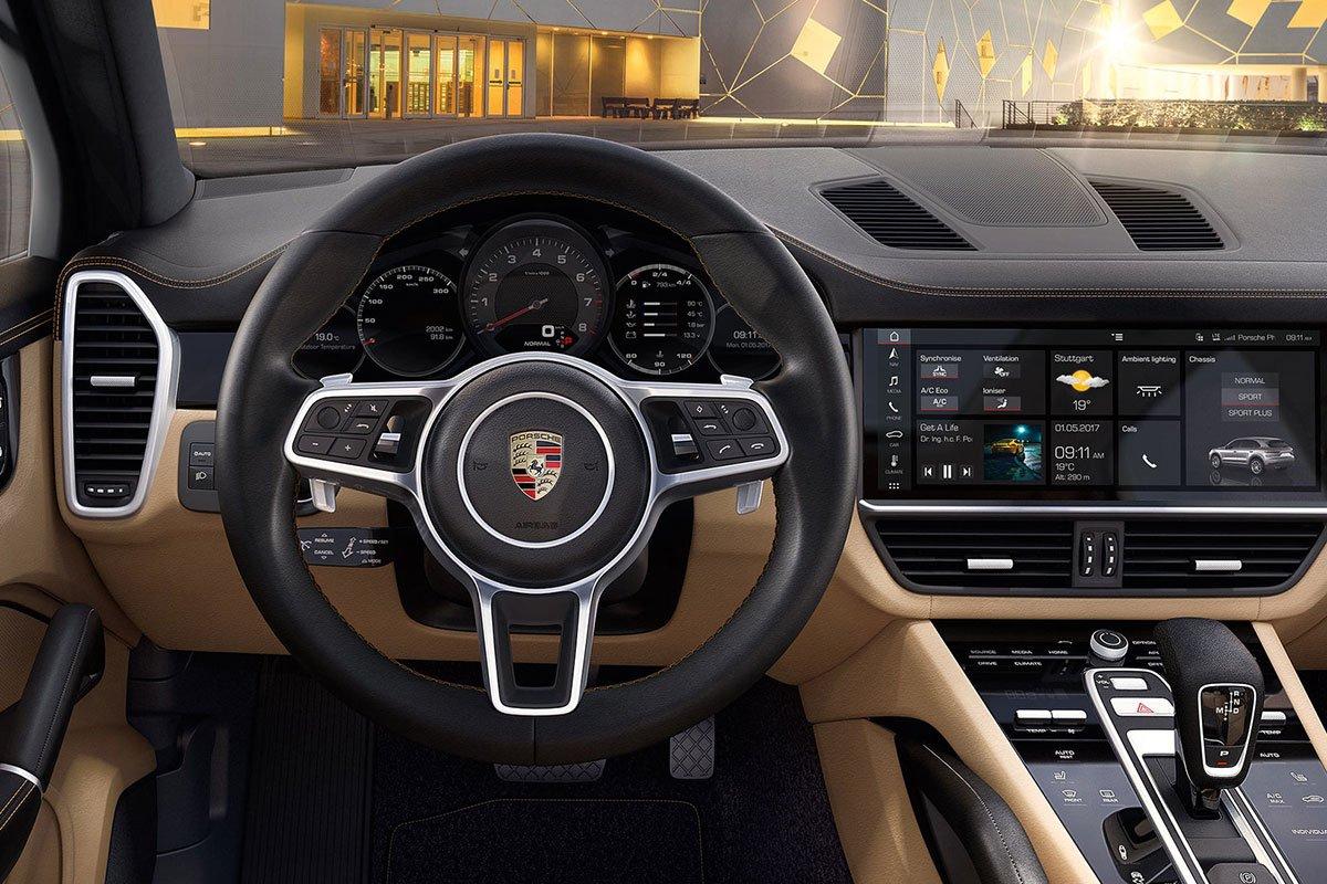 nội thất xe Porsche Cayenne1.