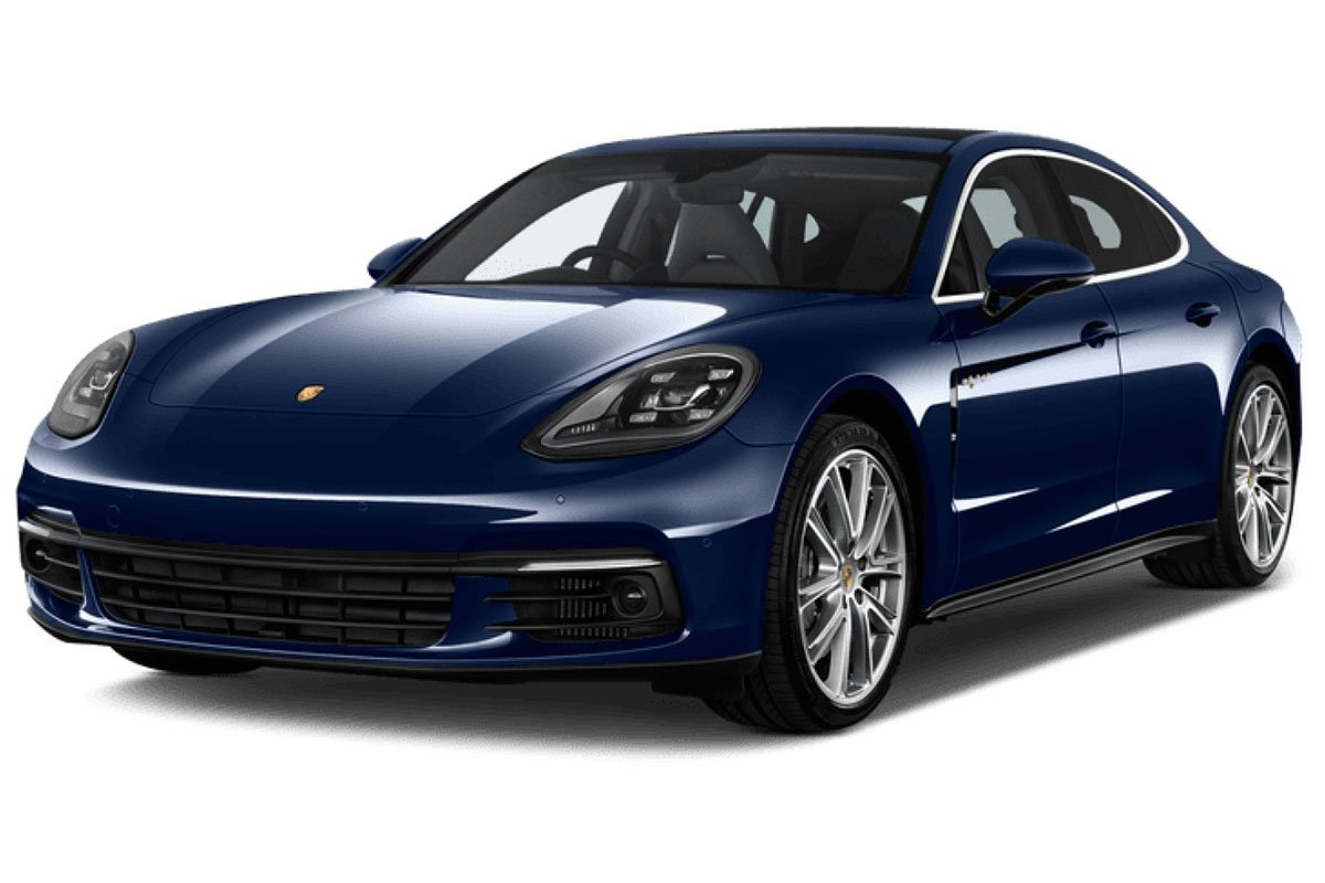đầu xe Porsche Panamera .