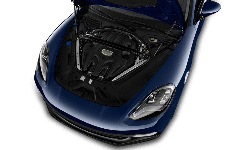 Động cơ xe Porsche Panamera.