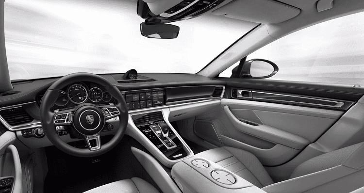 nội thất Porsche Panamera1.
