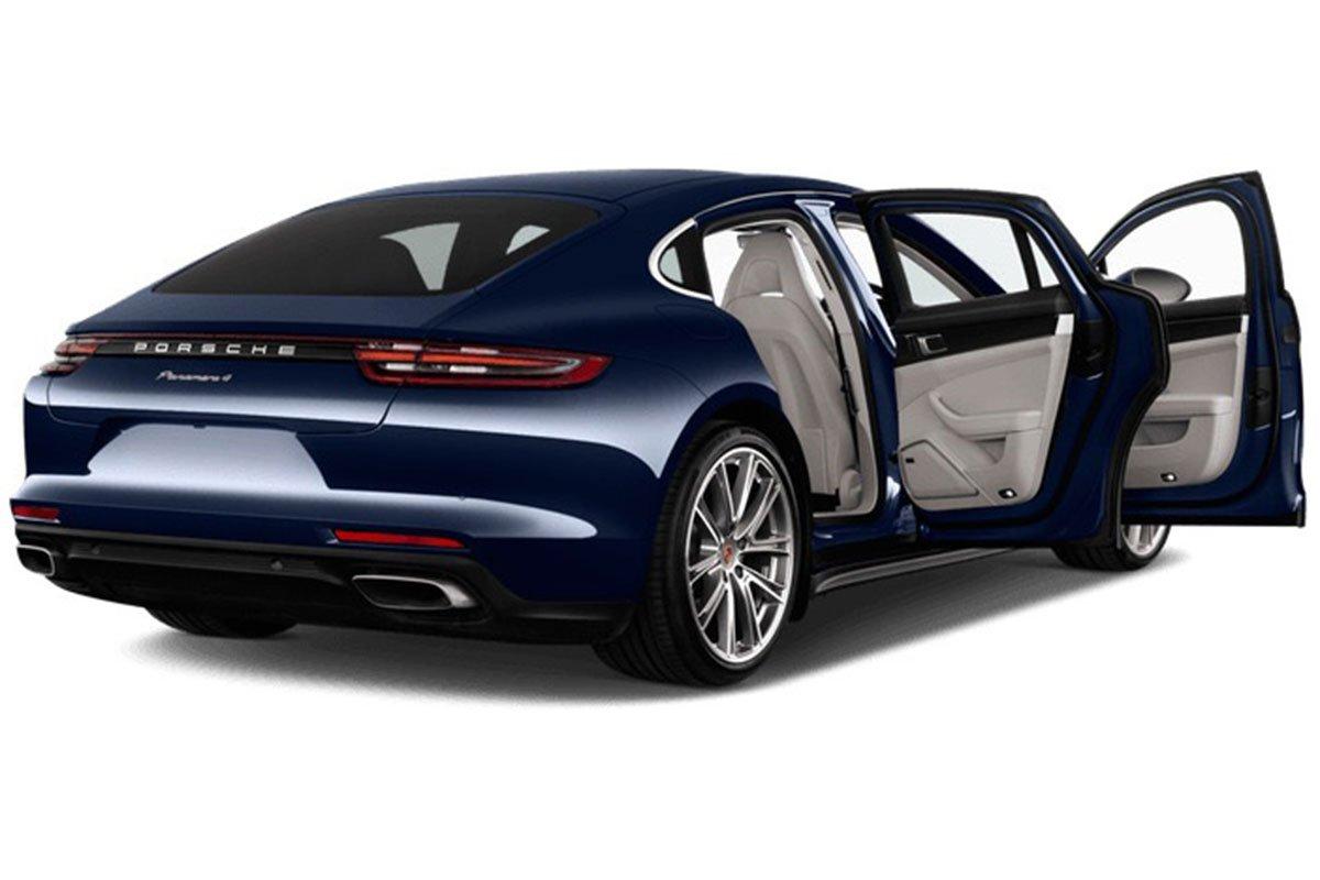 thân xe Porsche Panamera .