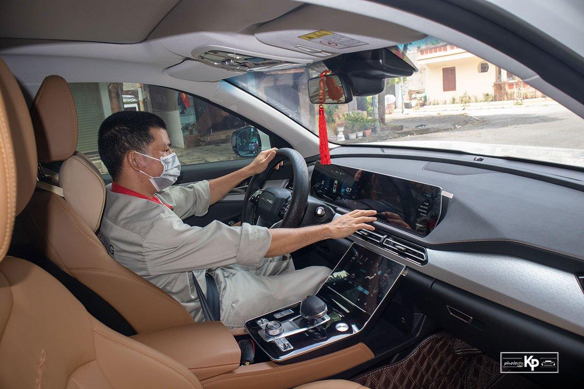 Người dùng là thợ sửa chữa ô tô đánh giá Baic Beijing X7 a112