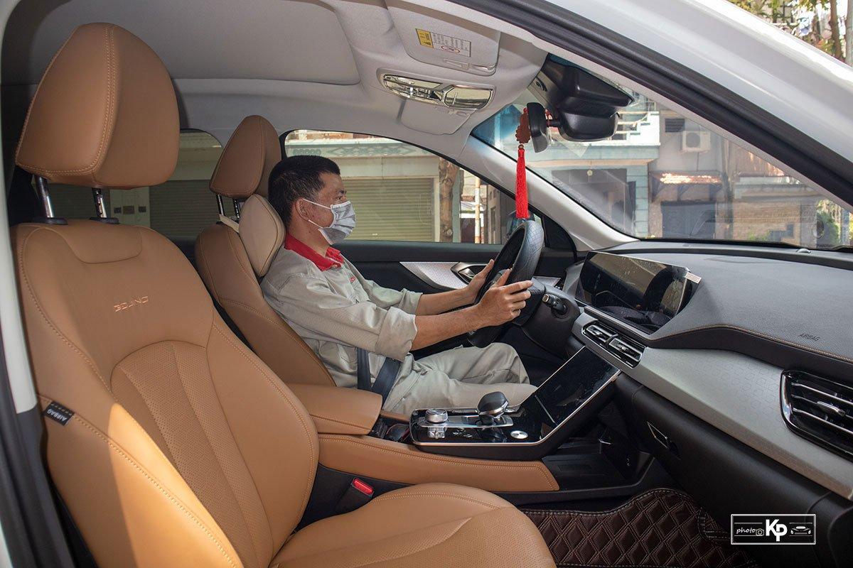 Người dùng là thợ sửa chữa ô tô đánh giá Baic Beijing X7 a10