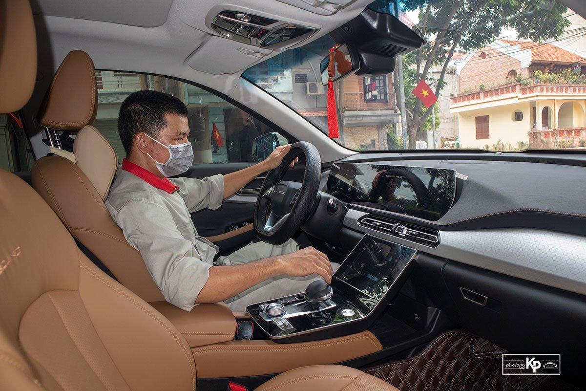 Người dùng là thợ sửa chữa ô tô đánh giá Baic Beijing X7 a13