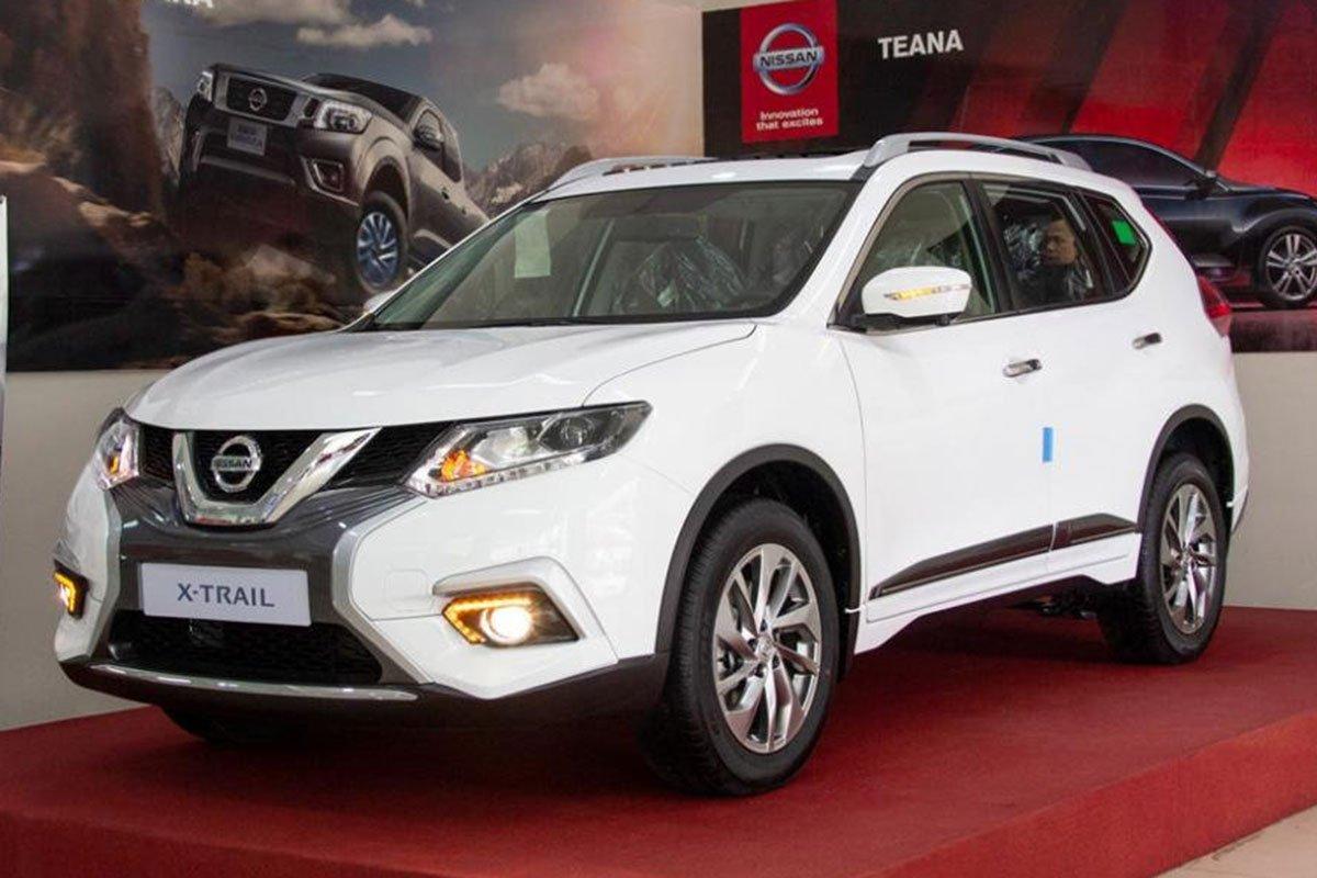 đầu xe Nissan X-Trail 2021.