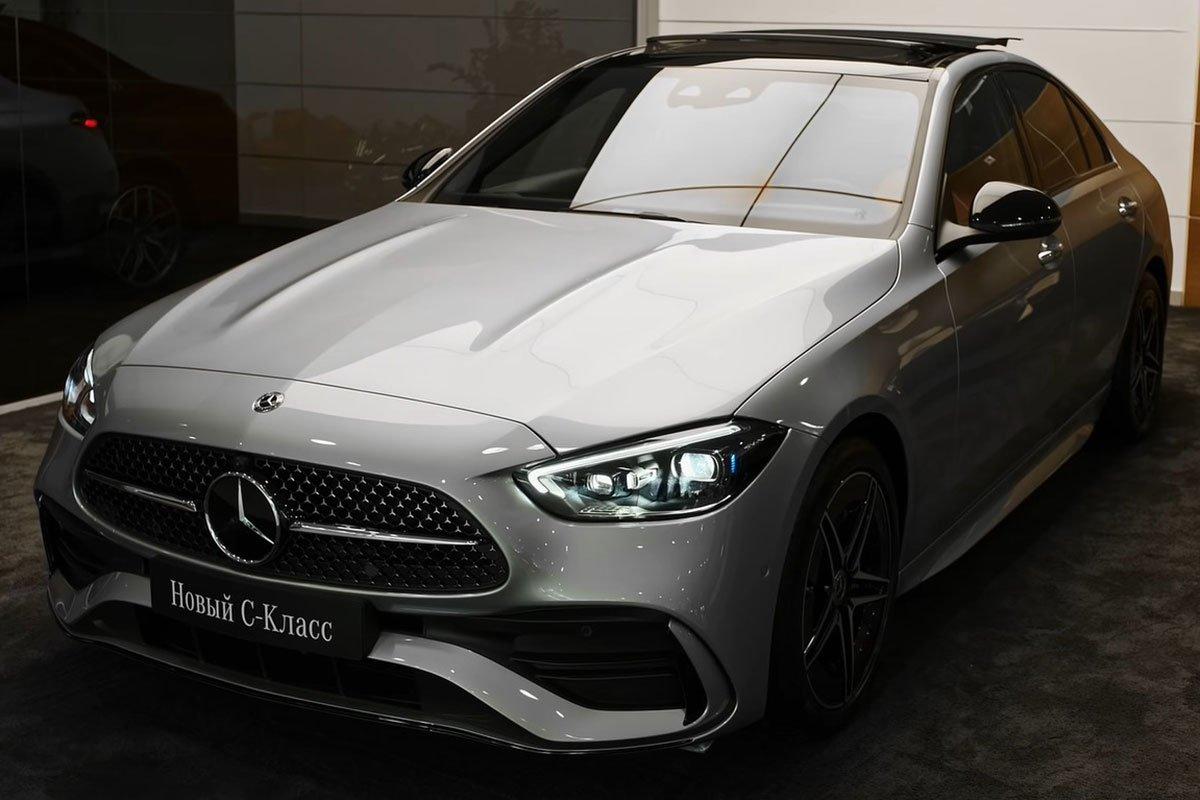 Mercedes-Benz C 300 AMG 2022 lộ diện thực tế: Đại lý Việt Nam nhận cọc, hẹn giao xe cuối năm a6