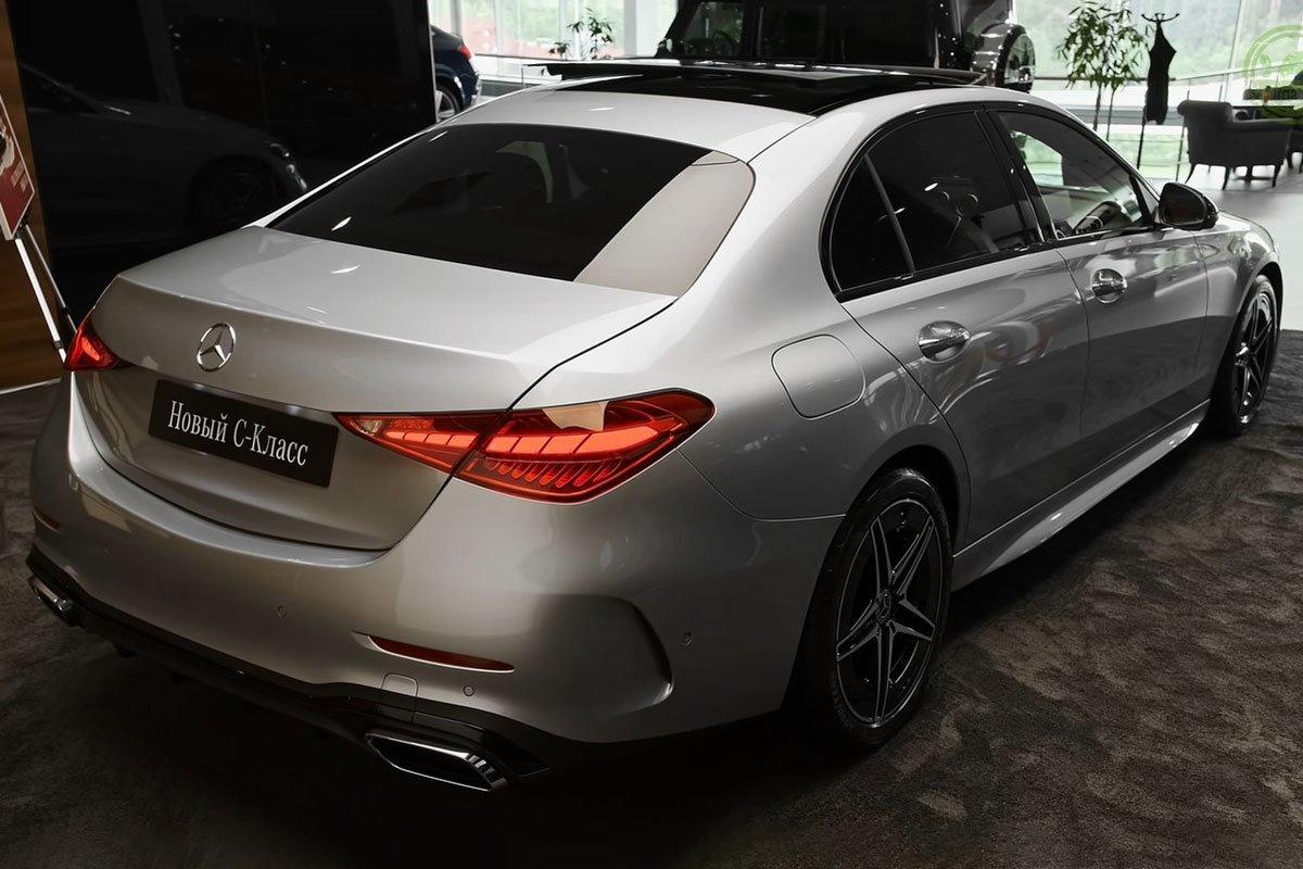 Mercedes-Benz C 300 AMG 2022 lộ diện thực tế: Đại lý Việt Nam nhận cọc, hẹn giao xe cuối năm a8