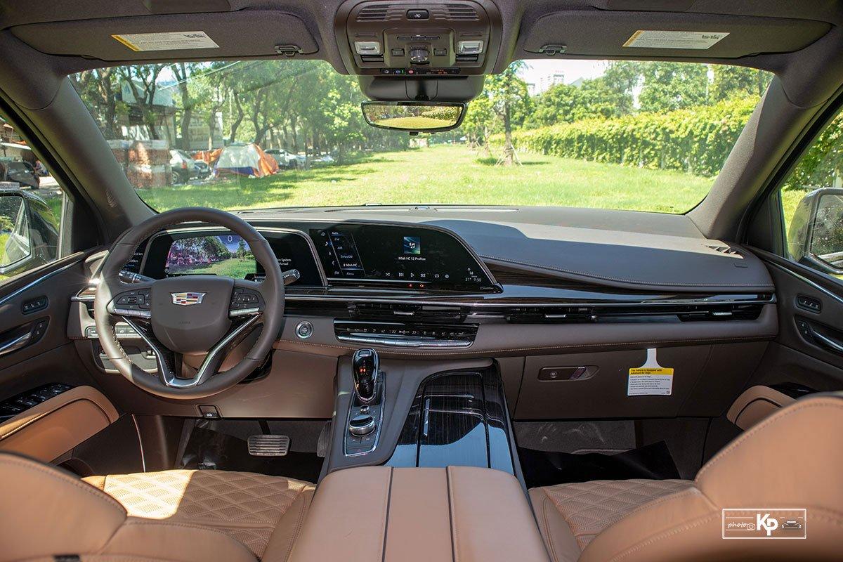 Ảnh Khoang lái xe Cadillac Escalade 2021