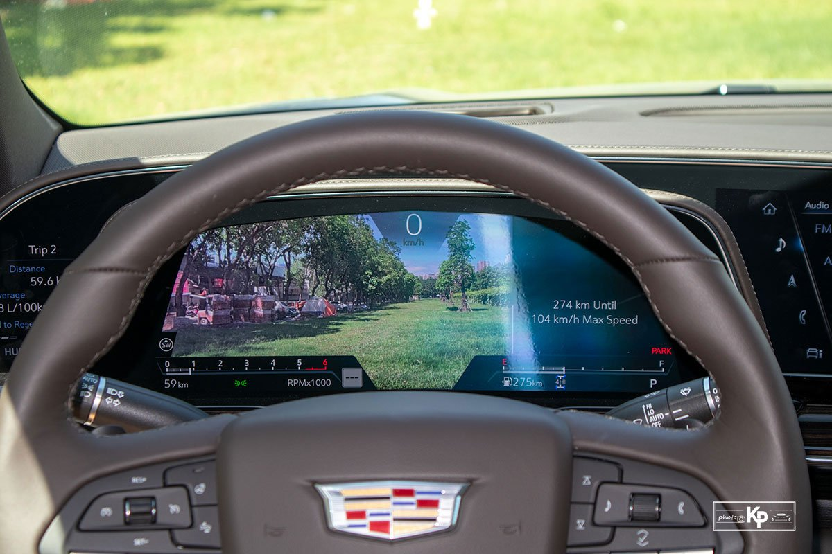 Ảnh Đồng hồ xe Cadillac Escalade 2021 a1