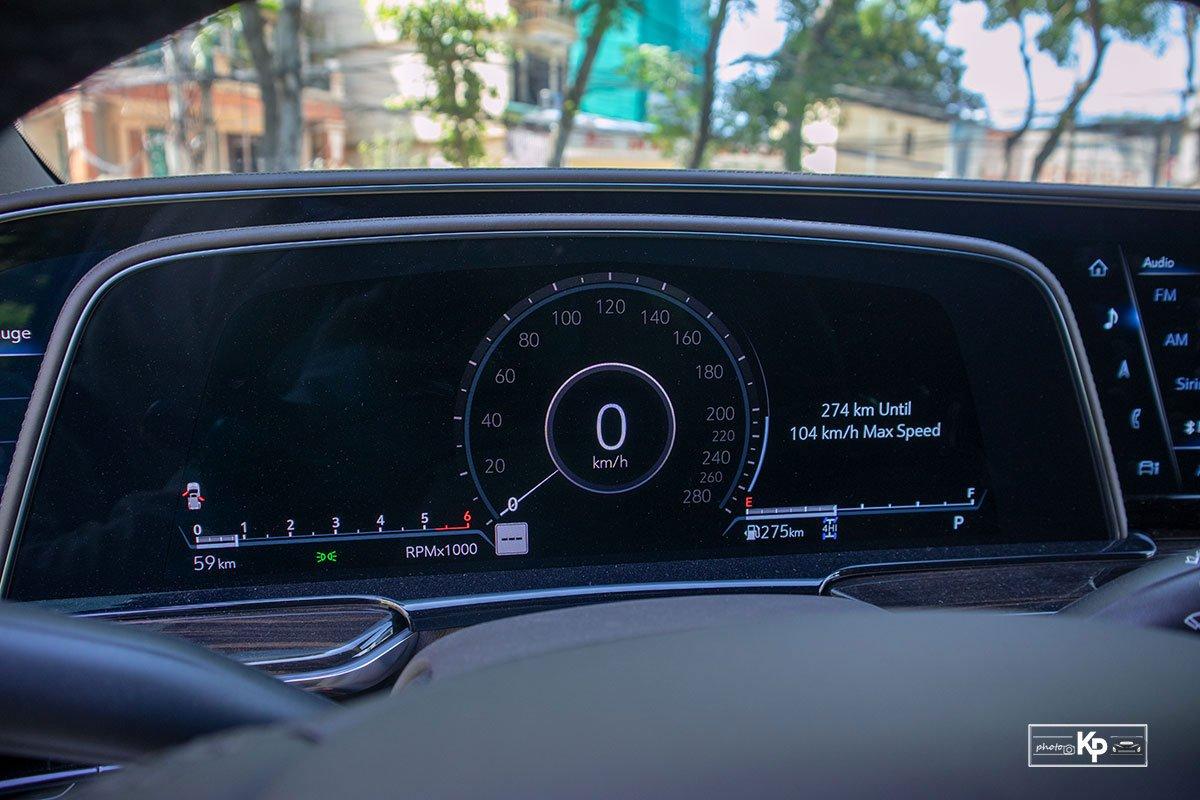 Ảnh Đồng hồ xe Cadillac Escalade 2021