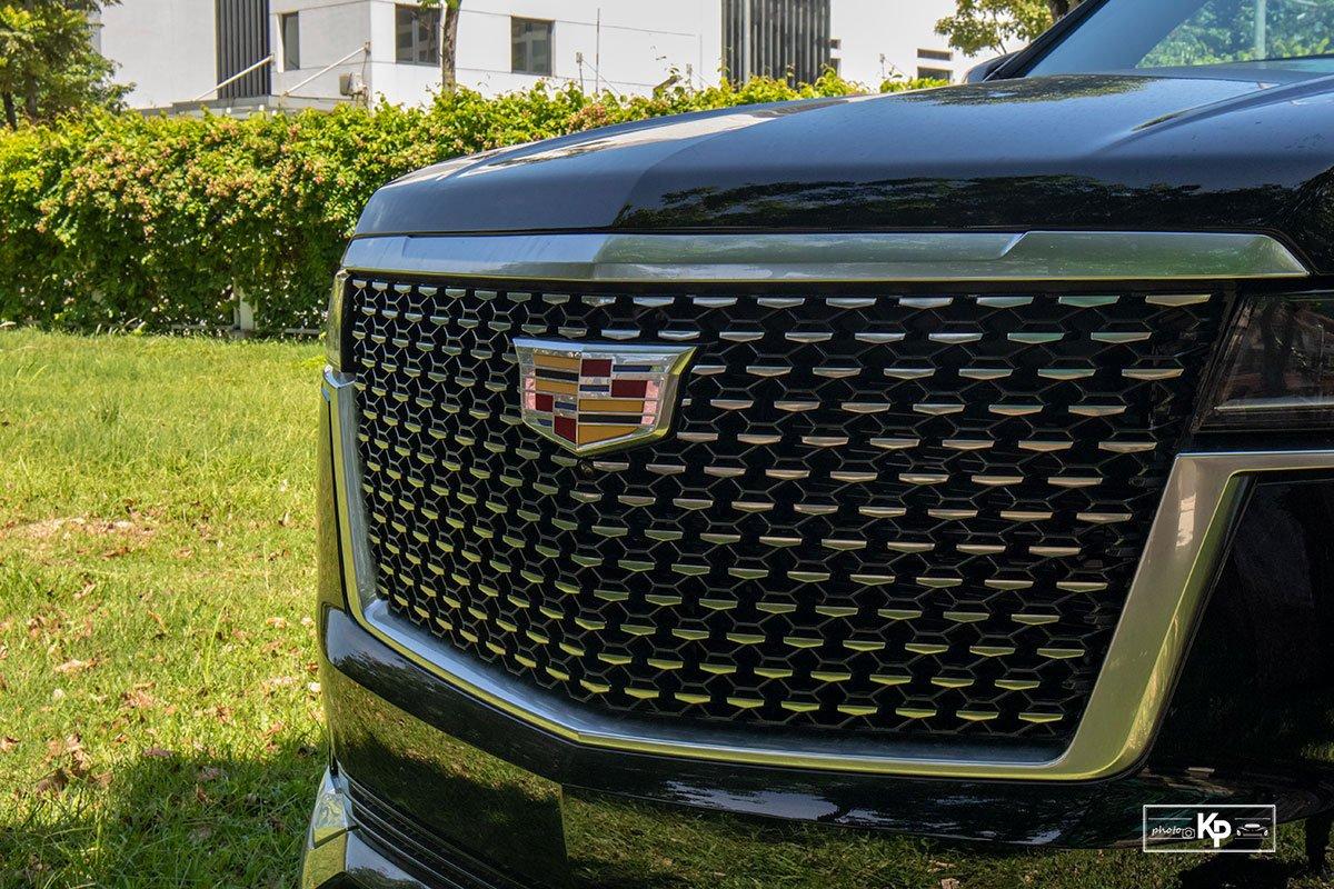 Ảnh Lưới tản nhiệt xe Cadillac Escalade 2021