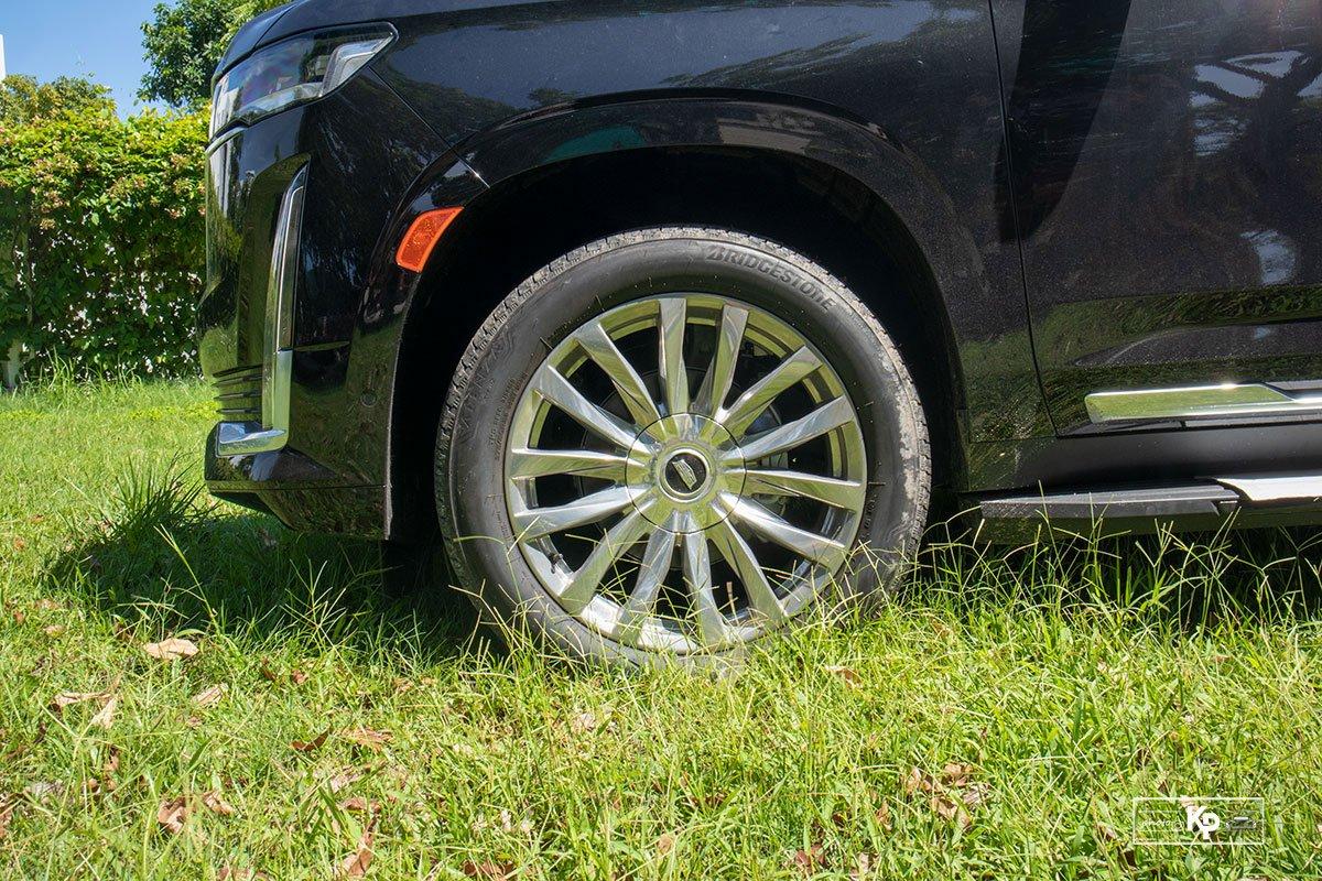 Ảnh La-zăng xe Cadillac Escalade 2021