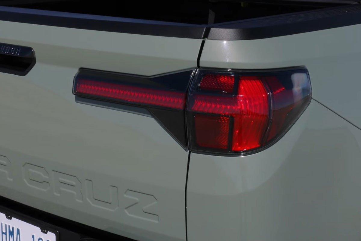 Đây là trải nghiệm Hyundai Santa Cruz 2022 ngoài đời thực Có gì đấu Ford Ranger a6