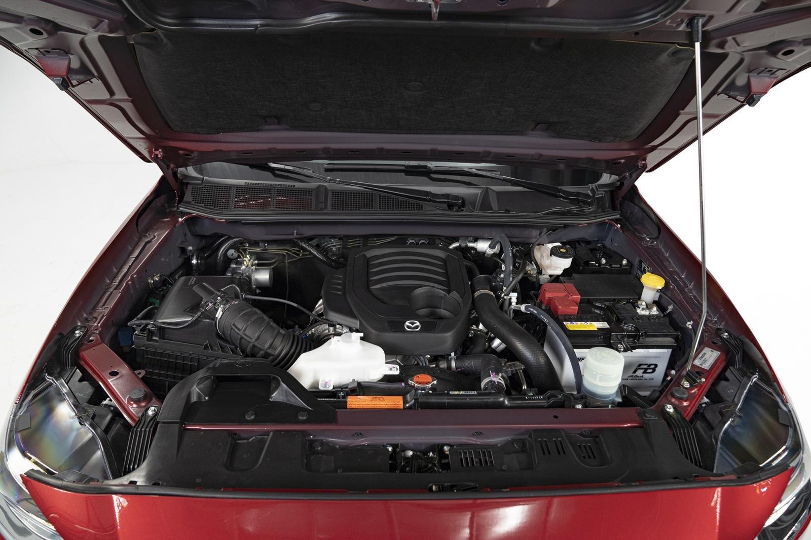 Động cơ xe Mazda BT-50 2021
