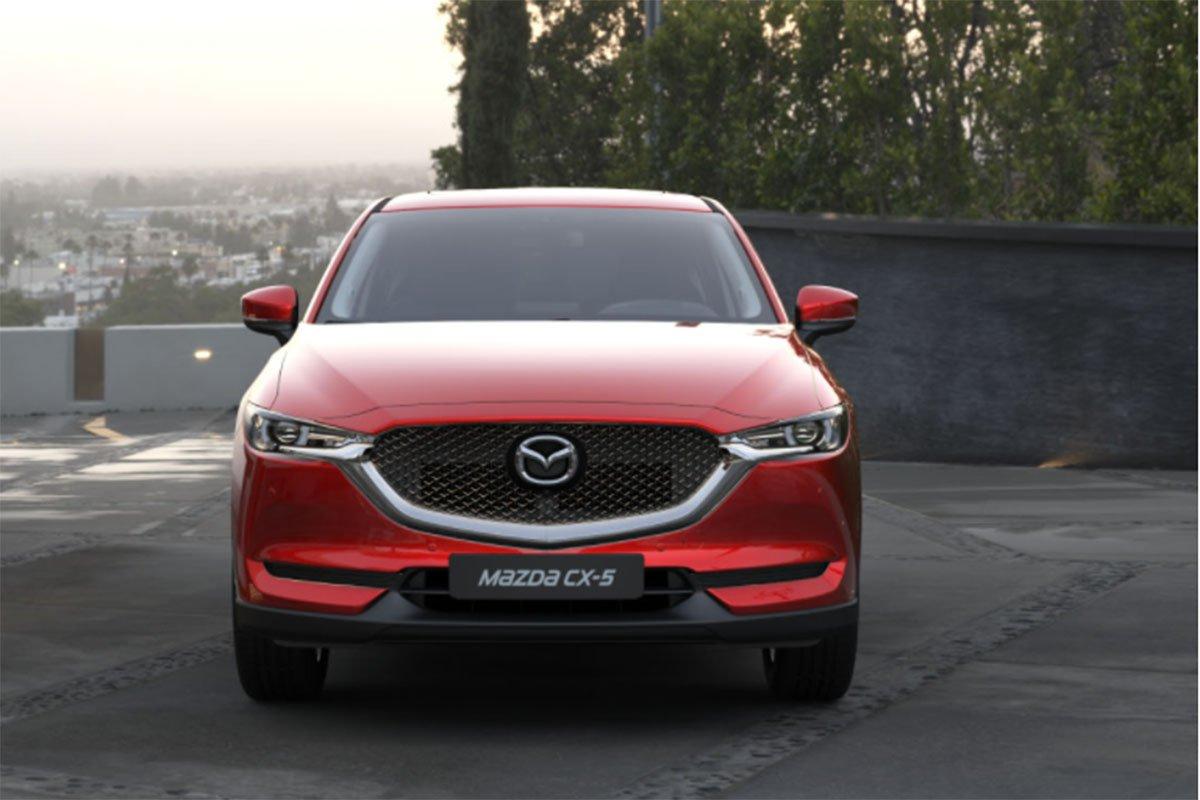 đầu xe Mazda CX-5 2021