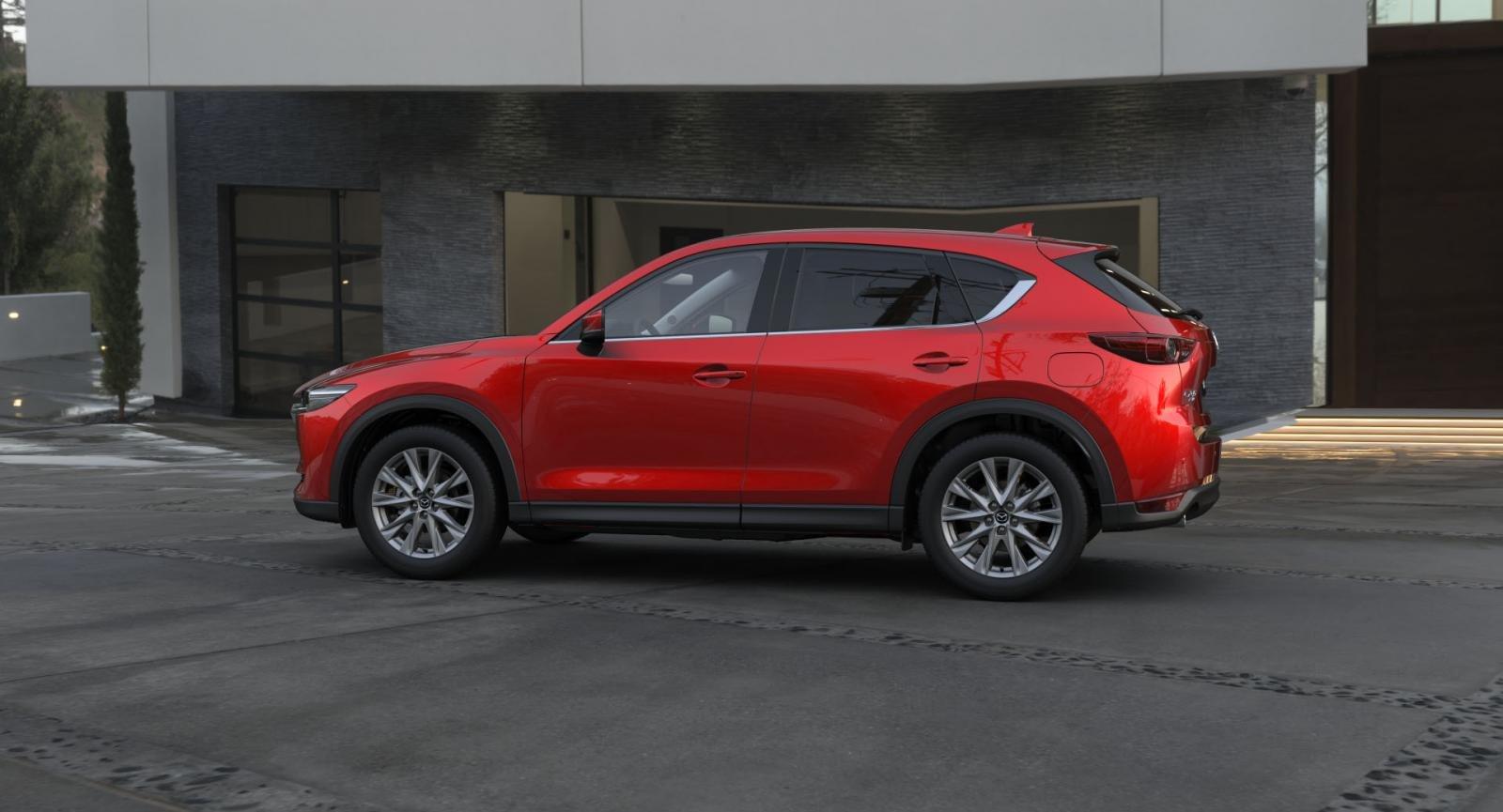 thân xe Mazda CX-5 2021.