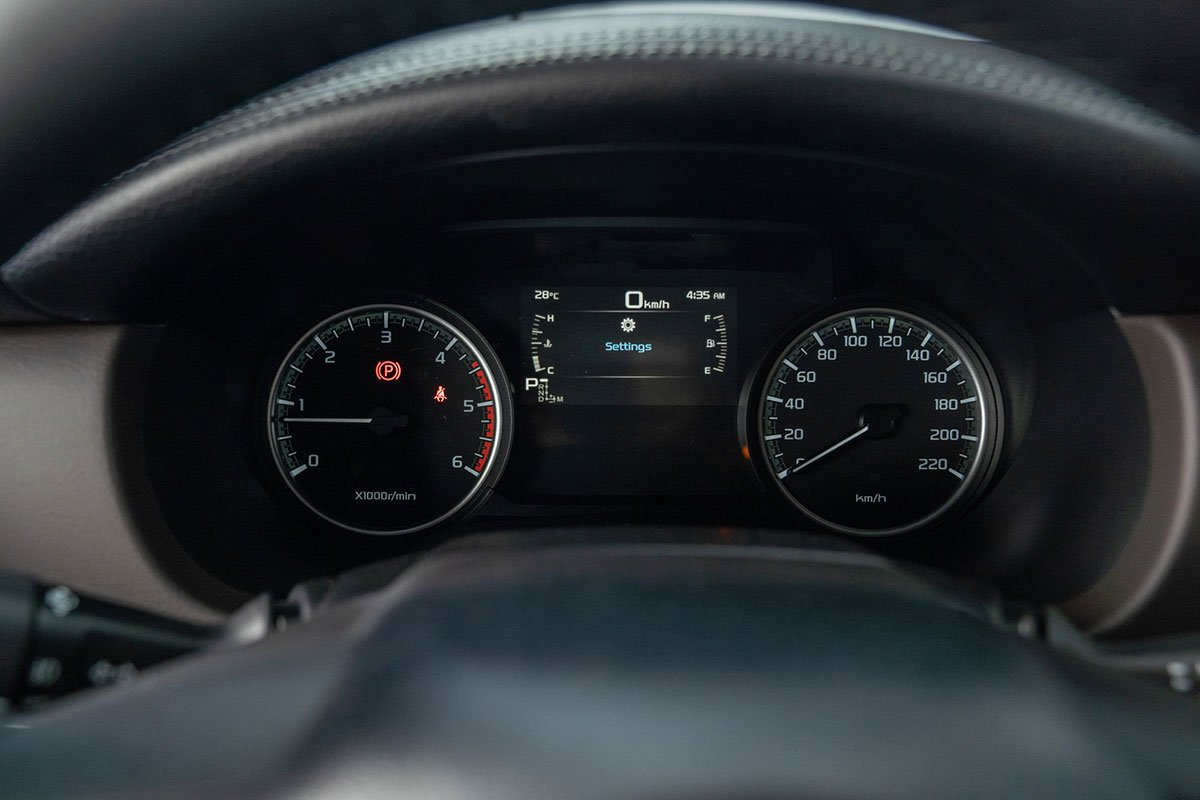 cụm đồng hồ xeMazda BT 50 2021.