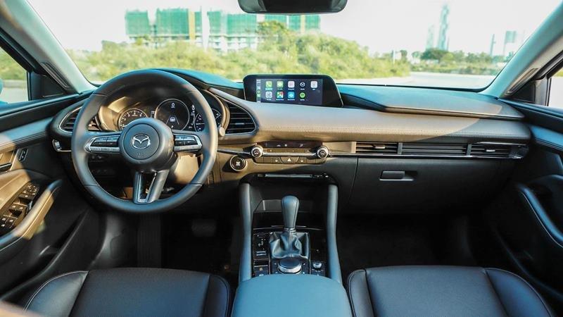 Nội thất xe Mazda 3 2021.