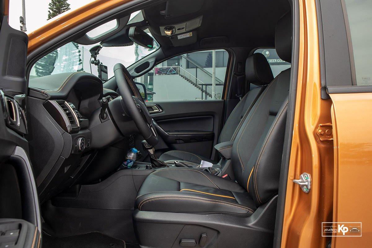 Ảnh Ghế lái xe Ford Ranger Wildtrak 2021
