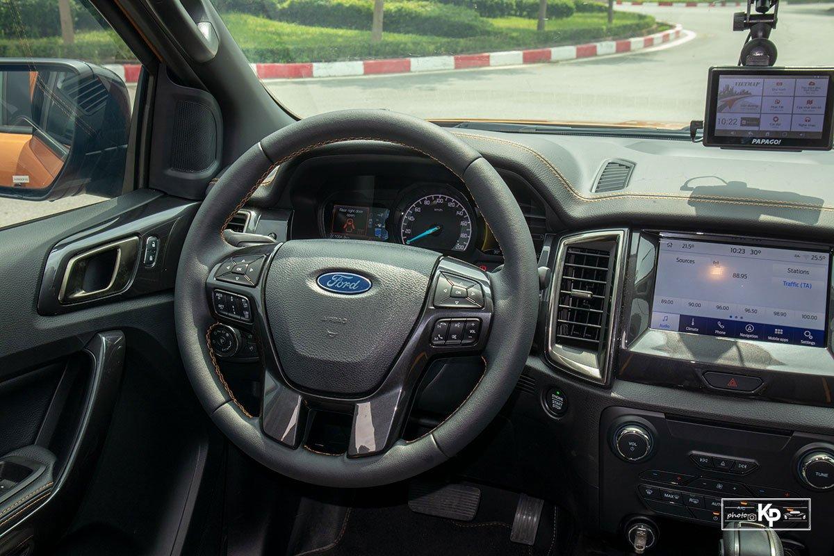 Ảnh Vô-lăng xe Ford Ranger Wildtrak 2021