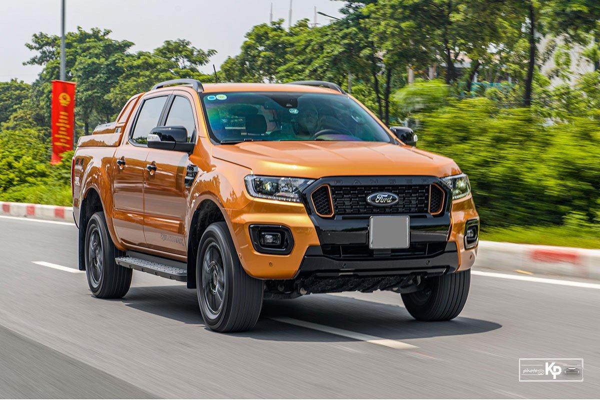 Ảnh Vận hành xe Ford Ranger Wildtrak 2021
