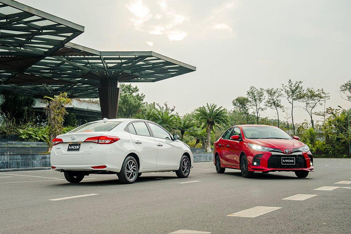 Khách mua xe Vios được hỗ trợ cao nhất 20 triệu đồng trong tháng 10.