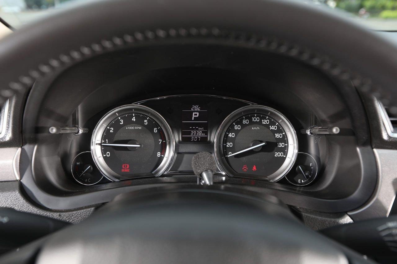 đồng hồ thông tin trên Suzuki Ciaz 2021.