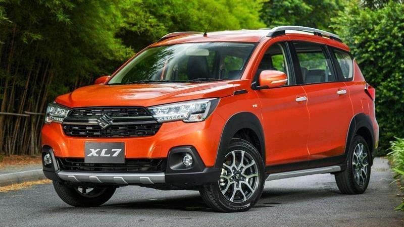 đầu xe Suzuki XL7.