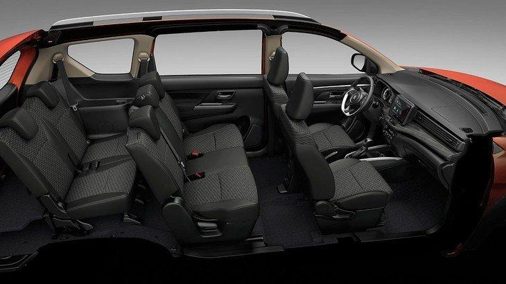 kếu cấu ghế ngồi trên Suzuki XL7.