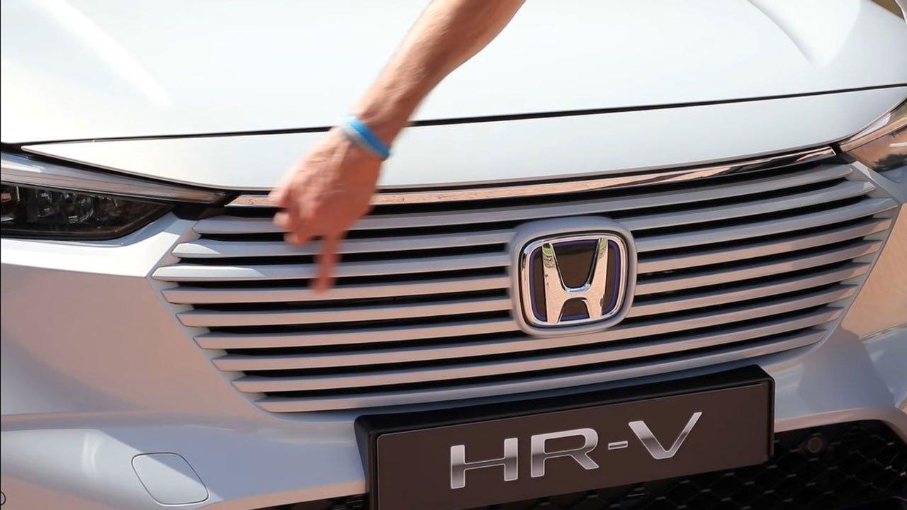 """""""Bóc tem"""" Honda HR-V 2022 ngoài đời thực: """"Lột xác"""" để thách thức Kia Seltos a4"""