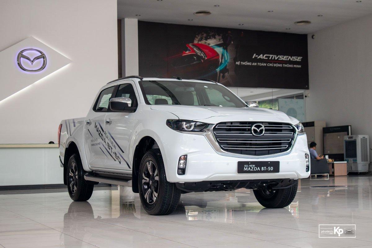 Ảnh giới thiệu xe Mazda BT-50 2021