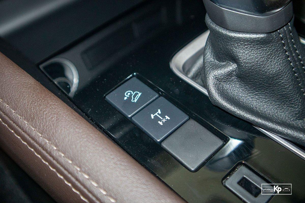 Ảnh Các chế độ xe Mazda BT-50 2021