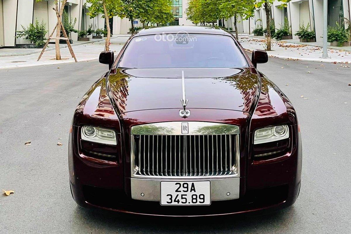 Rolls-Royce Ghost biển đẹp, chạy 10 năm rao bán hơn 8 tỷ.