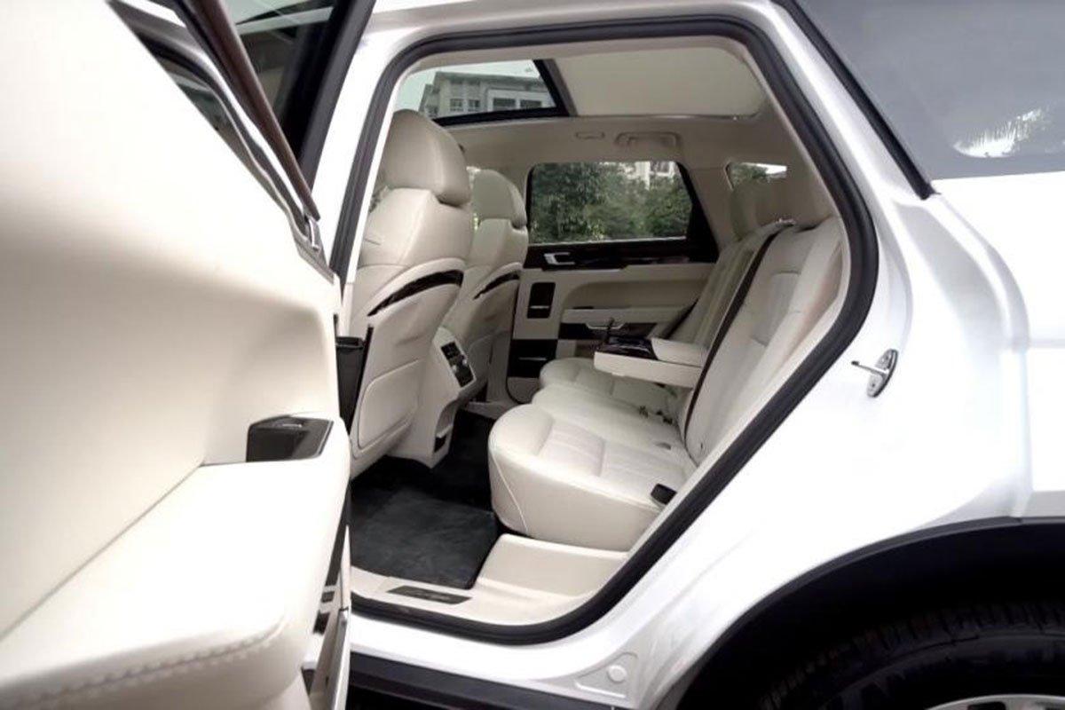 hàng ghế sau xe Zotye Z8 2021