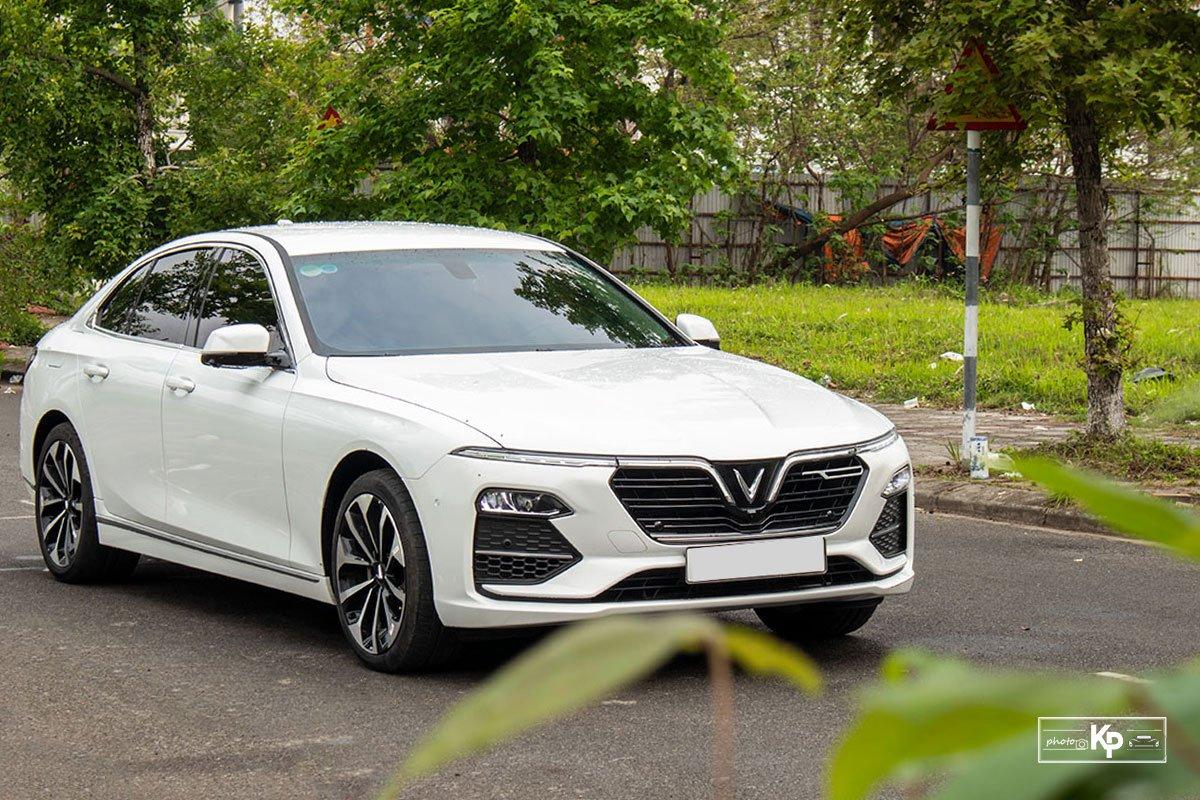 Ưu nhược điểm xe VinFast Lux A2.0 2021 a2