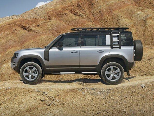 thân xe Land Rover Defender.