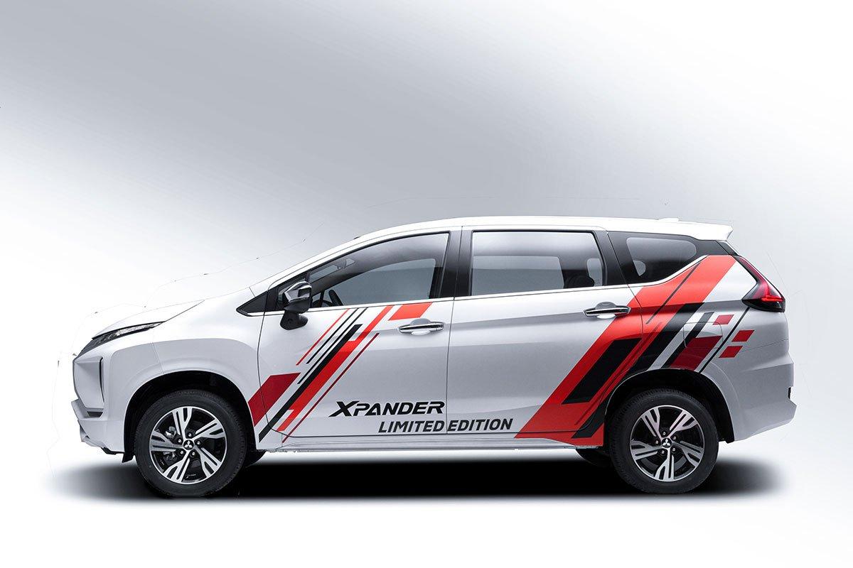 Decal mới trên Mitsubishi Xpander phiên bản đặc biệt.