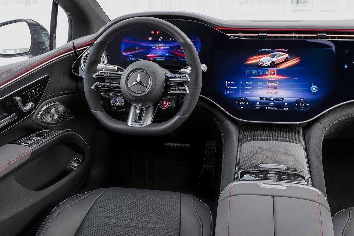 Mercedes-Benz AMG EQS nội thất