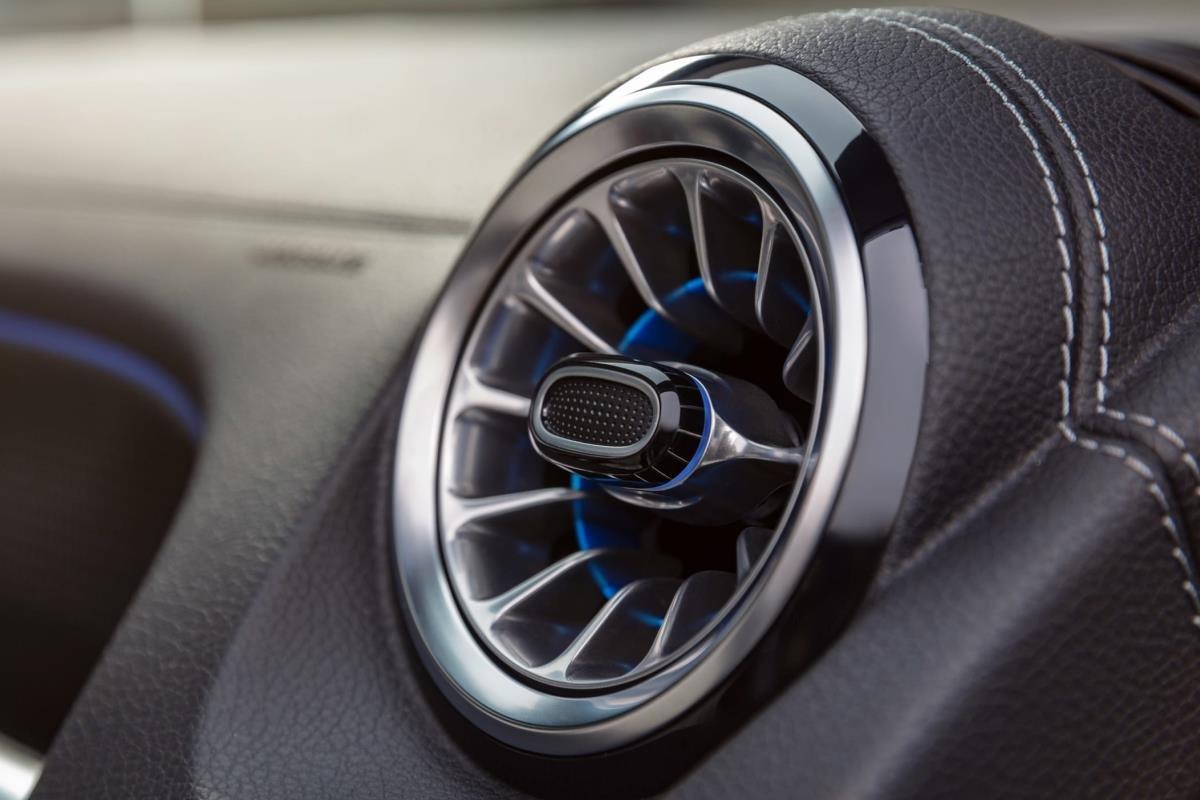 Mercedes EQB 2021 điều hòa 1