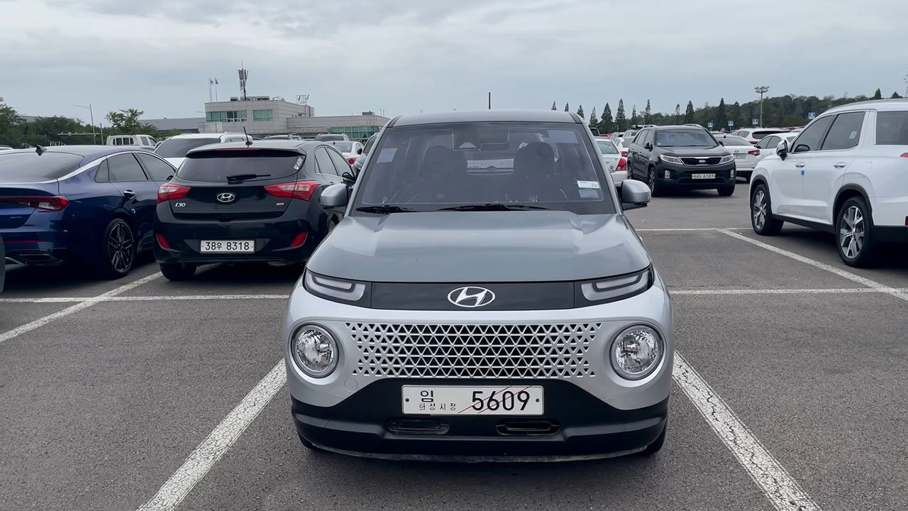 Ảnh thực tế Hyundai Casper 2022 SUV cỡ nhỏ đấu Kia Sonet sắp ra mắt Việt Nam a2